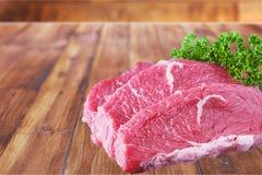 Carne de la carne de vaca Fotografía de archivo