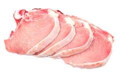 Carne de la chuleta de cerdo Foto de archivo libre de regalías