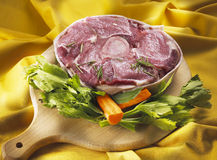 Carne de Marrowbone Fotografia de Stock