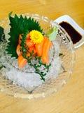 Carne de pescados de color salmón Imagen de archivo libre de regalías