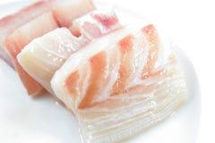 Carne de pescados del pargo rojo Fotografía de archivo