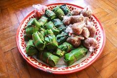 Carne de porco ácida: Alimento do nordeste tailandês do estilo Imagens de Stock