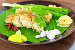 Carne de porco ácida cozinhada com vegetal Imagem de Stock Royalty Free