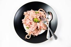 Carne de porco ácida cozinhada da salsicha Foto de Stock