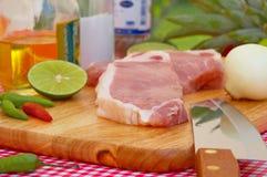 Carne de porco Fotos de Stock Royalty Free