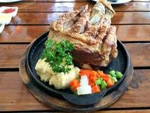 Carne de porco alemão Foto de Stock Royalty Free