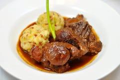 Carne de porco assada Fotografia de Stock Royalty Free