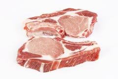 Carne de porco crua Fotos de Stock