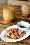 Carne de porco da grade Imagens de Stock