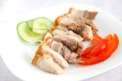 Carne de porco de assado sem ossos chinesa imagem de stock royalty free