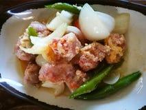 Carne de porco de Fried Sour imagens de stock royalty free