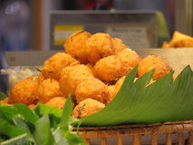Carne de porco de Fried Sour thai fotos de stock