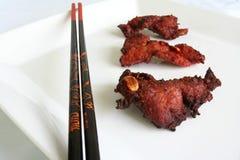 Carne de porco do BBQ Fotos de Stock Royalty Free