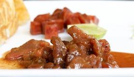 Carne de porco doce foto de stock