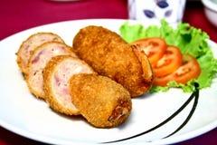 Carne de porco e camarão Imagens de Stock Royalty Free