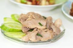 Carne de porco fervida Imagem de Stock
