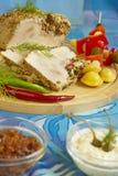 Carne de porco fervida Fotografia de Stock