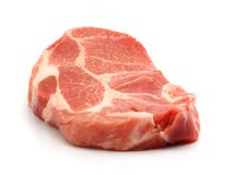 Carne de porco fresca Foto de Stock
