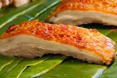 Carne de porco friável Foto de Stock Royalty Free