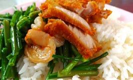 Carne de porco friável Imagem de Stock Royalty Free