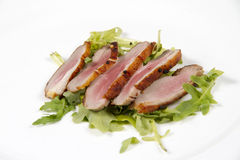 Carne de porco fumada Imagens de Stock