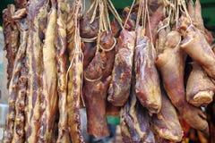 Carne de porco fumada fotos de stock royalty free
