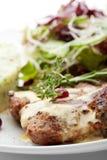 Carne de porco grelhada Fotografia de Stock