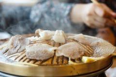Carne de porco grelhada Foto de Stock Royalty Free