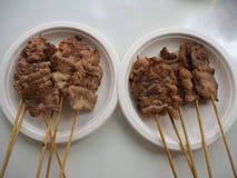 Carne de porco grelhada Imagem de Stock Royalty Free