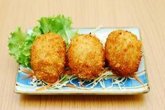Carne de porco Korokke Imagens de Stock