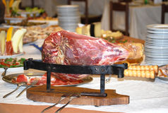 Carne de porco magra do presunto Imagem de Stock Royalty Free