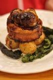 Carne de porco para o almoço Imagens de Stock Royalty Free