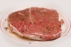 Carne de porco para o bife Imagem de Stock