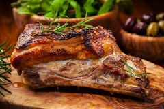 Carne de porco Roasted Imagens de Stock Royalty Free