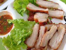 Carne de porco Roasted Fotografia de Stock Royalty Free
