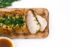 Carne de porco Roasted imagem de stock royalty free