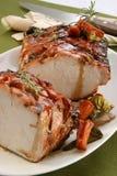 Carne de porco Roasted Foto de Stock