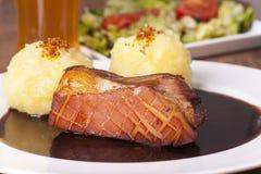 Carne de porco roasted Bavarian imagem de stock