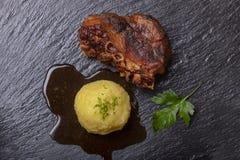 Carne de porco roasted Bavarian fotografia de stock