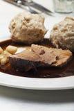 Carne de porco roasted Bavarian Imagem de Stock Royalty Free