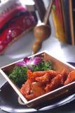 Carne de porco Shredded com vegetais Imagens de Stock Royalty Free