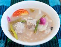 Carne de porco Sinigang Foto de Stock Royalty Free