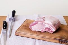 Carne de porco Uncooked Imagem de Stock Royalty Free