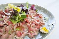 Carne de Tataki Foto de Stock