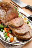 Carne de vaca asada Fotografía de archivo