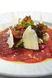 Carne de vaca Carpaccio Imagen de archivo