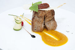 Carne de vaca de carne asada Fotografía de archivo libre de regalías