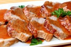 Carne de vaca de carne asada Imagen de archivo libre de regalías