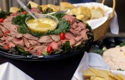 Carne de vaca de carne asada Imágenes de archivo libres de regalías