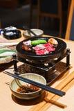 Carne de vaca de Kobe. Foto de archivo